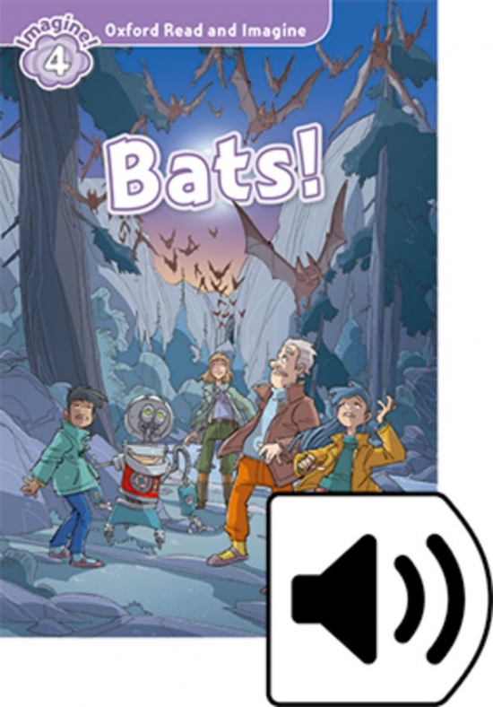 Oxford Read and Imagine 4 Bats! with MP3 Pack