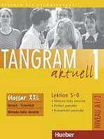 Tangram aktuell 1. Lektion 5-8 Glossar XXL Deutsch-Tschechisch : 9783191118020