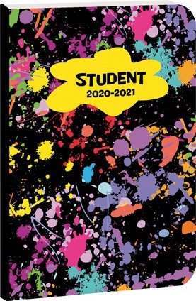 Školní diář STUDENT Paintball : 8591577056061