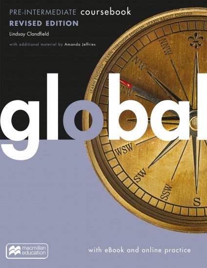 Global Revised Pre-Intermediate Coursebook + eBook + MPO