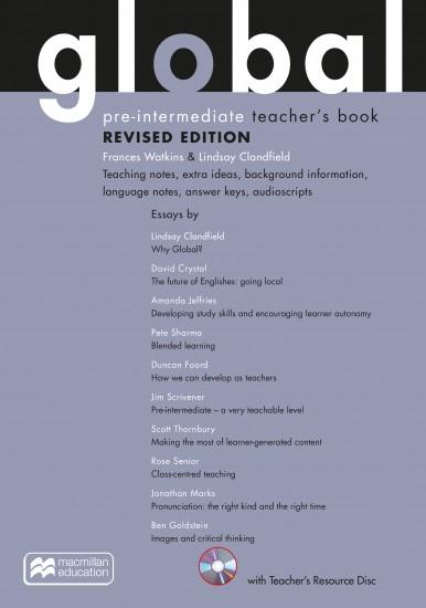 Global Revised Pre-Intermediate Teacher´s Pack (Includes: Teacher´s Resource CD-ROM, eBook & Macmillan Practice Online)