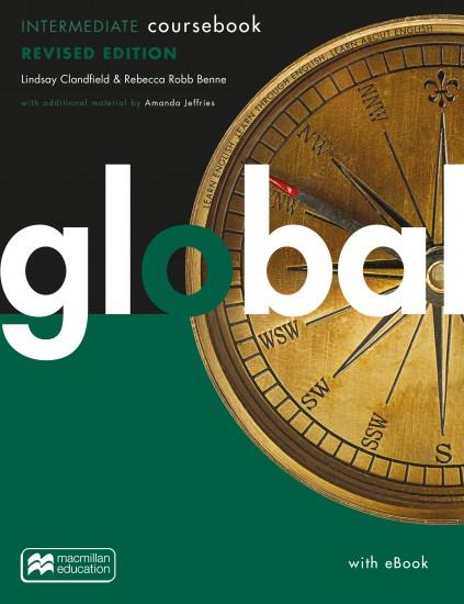 Global Revised Intermediate Coursebook + eBook Pack