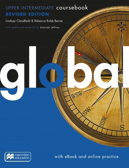 Global Revised Upper-Intermediate Coursebook + eBook Pack + MPO : 9781380040787