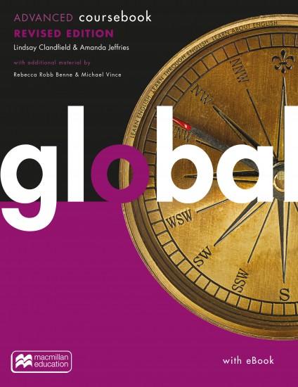Global Revised Advanced Coursebook + eBook Pack : 9781380040862