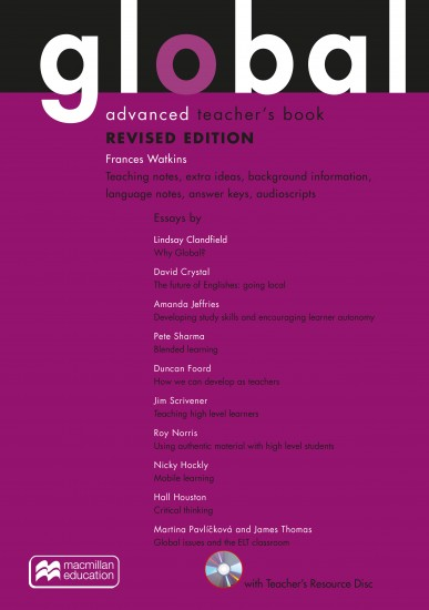 Global Revised Advanced Teacher´s Pack (Includes: Teacher´s Resource CD-ROM, eBook & Macmillan Practice Online)