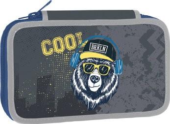 Školní penál dvoupatrový Cool Bear : 8591577054722