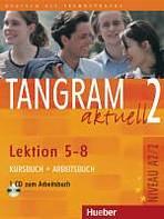 Tangram aktuell 2. Lektion 5-8 Kursbuch + Arbeitsbuch mit Audio-CD zum Arbeitsbuch  : 9783190018178