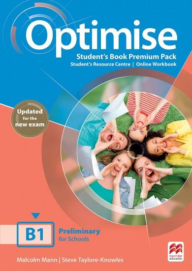 Optimise B1 Updated Student´s Book Premium Pack : 9781380032089