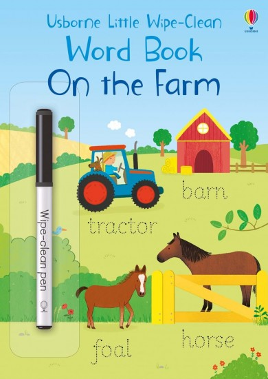 Little wipe-clean word books On the Farm : 9781474968157