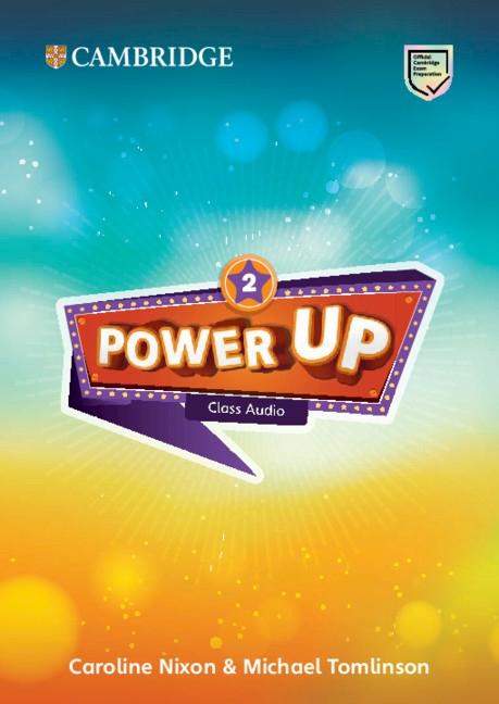 Power Up Class Audio CDs 2