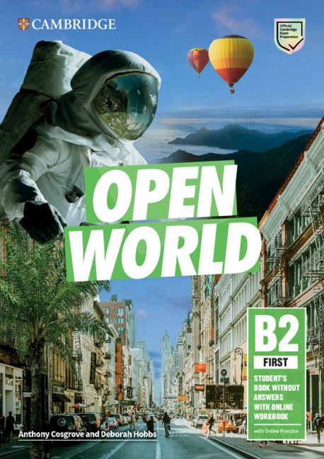 Open World First Student´s Book without Answers with Online Workbook