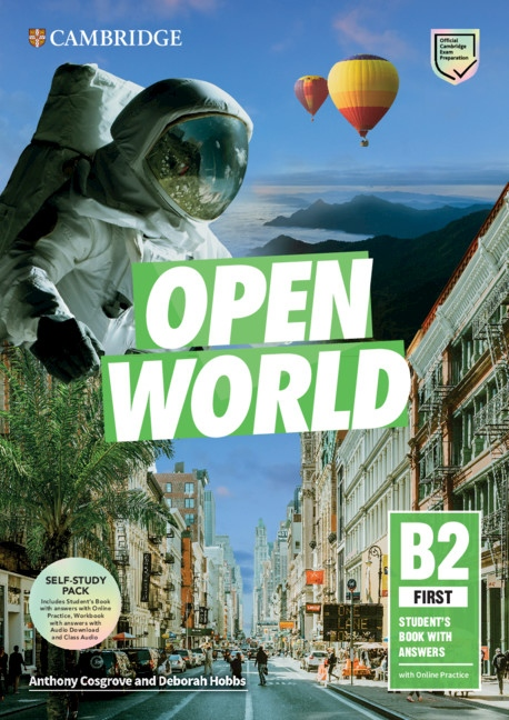 Open World First Self Study Pack (SB w Answers w Online Practice and WB w Answers w Audio Download and Class Audio)