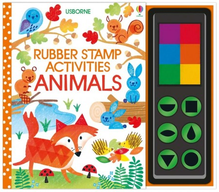 Rubber stamp activities animals : 9781474953580