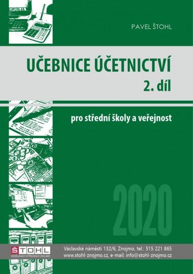 Učebnice Účetnictví 2020 - 2. díl
