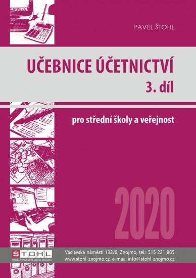 Učebnice Účetnictví 2020 - 3. díl