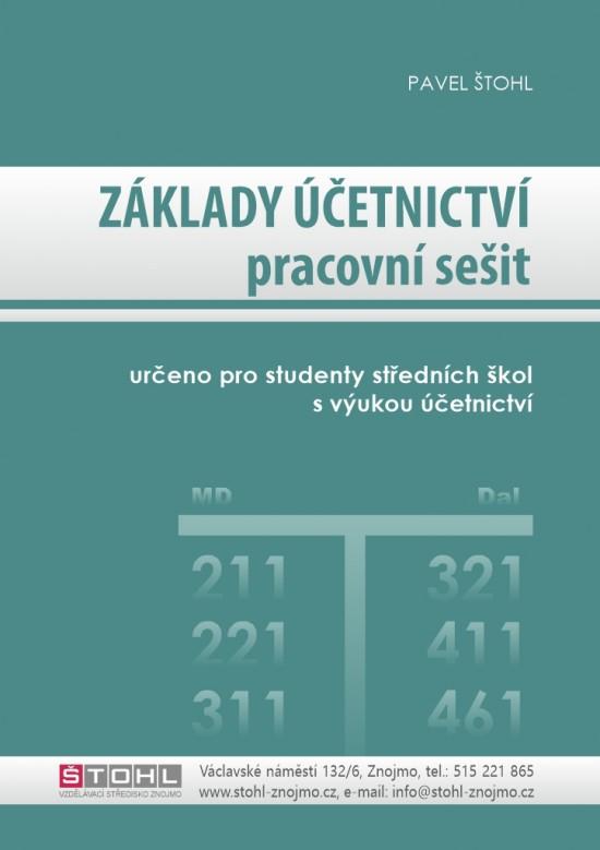 Základy účetnictví - pracovní sešit 2020