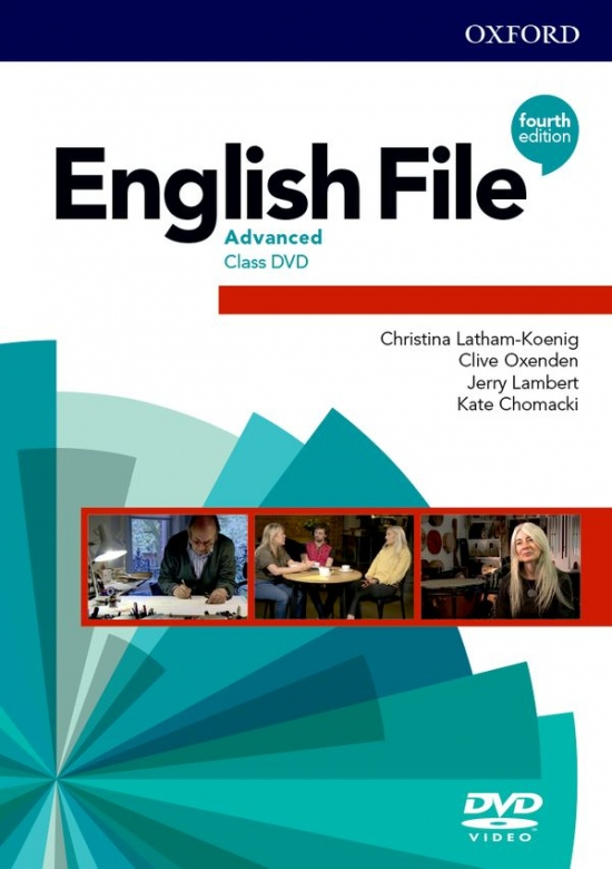 English File Fourth Edition Advanced Class DVD