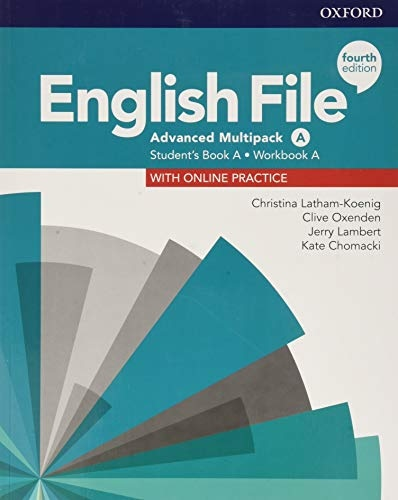 English File Fourth Edition Advanced Multipack A with Student Resource Centre Pack