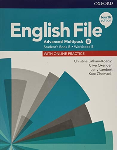 English File Fourth Edition Advanced Multipack B with Student Resource Centre Pack