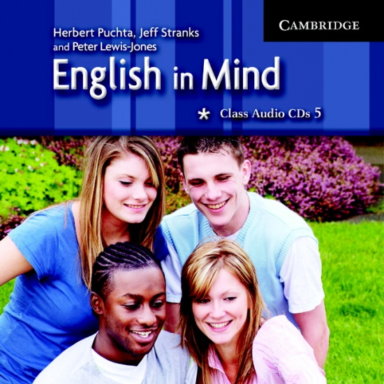 English in Mind Level 5 Class Audio CDs (3)