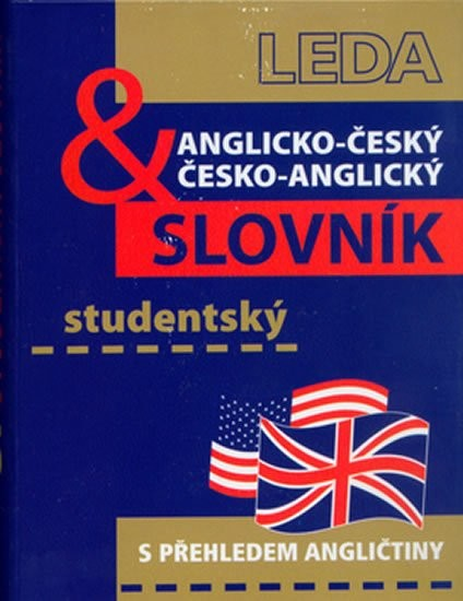 Anglicko-český a česko-anglický studentský slovník