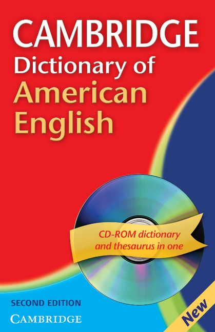 Cambridge Dictionary of American English with CD-ROM for Windows/Mac : 9780521691987
