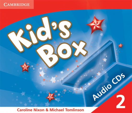 Kid´s Box 2 Audio CDs (3)