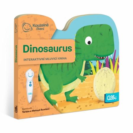 Kouzelné čtení Minikniha s výsekem - Dinosaurus