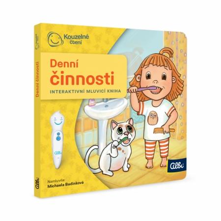 Kouzelné čtení Minikniha pro nejmenší - Denní činnosti : 9788087958544