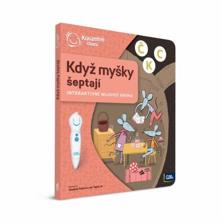 Kouzelné čtení Kniha Když myšky šeptají : 9788087958742