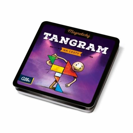 Magnetické hry na cesty - Tangram