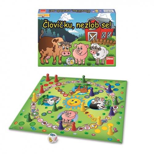 ČLOVÍČKU NEZLOB SE Dětská hra : 8590878623583