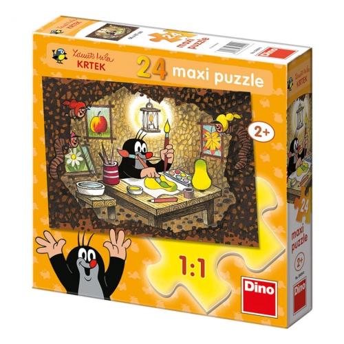 KRTEČEK MALUJE 24 maxi Puzzle