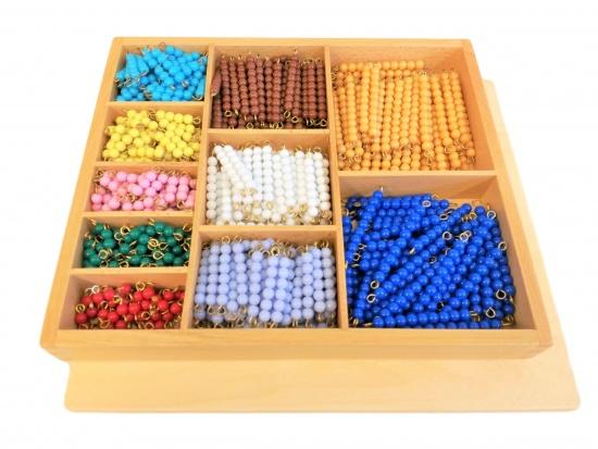 Korálková krabice - barevné schody (1-10) : 8596027002131