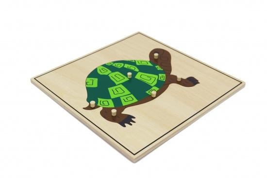 Puzzle - želva : 8596027000250