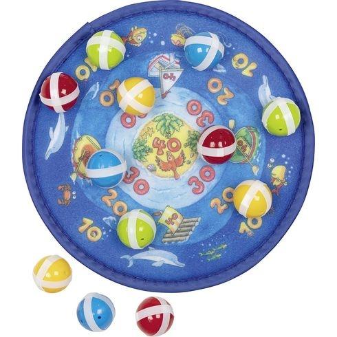 Terč na suchý zip s 12 míčky – Oceán : 4013594568654