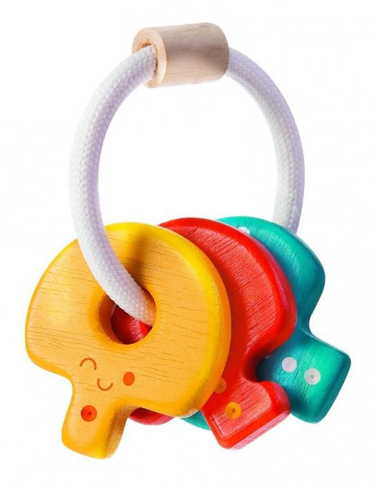 Chrastítko s klíči