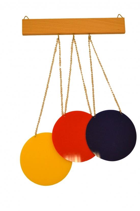 Sada třech barevných disků : 8596027003497