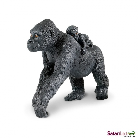 Gorila nížinná s mládětem : 95866294700
