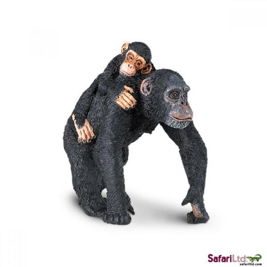 Šimpanz s mládětem : 95866295905