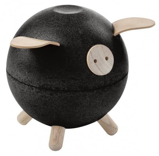 Kasička - černé prasátko