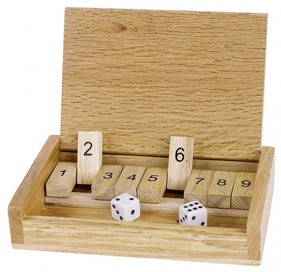 Cestovní hra - Shut the box : 4013594091855