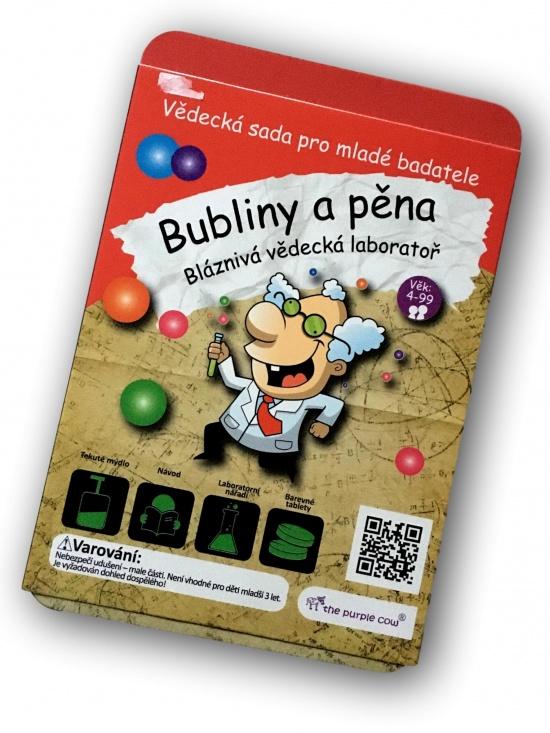Bláznivá vědecká laboratoř - Bubliny a pěna : 7290014368927