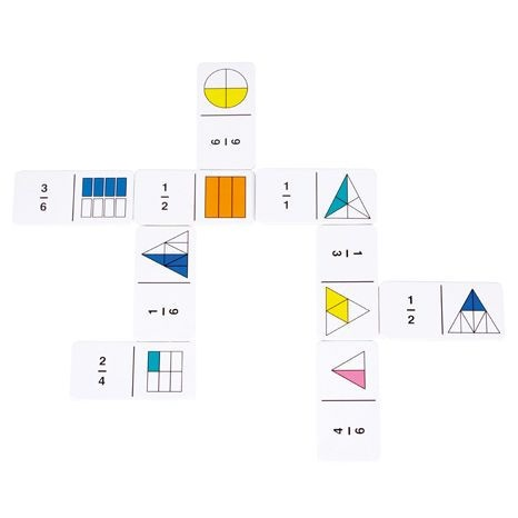 Domino - barevné zlomky : 5055506405021