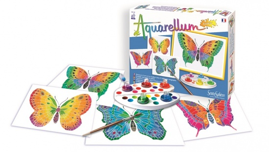 Akvarely junior - Motýli