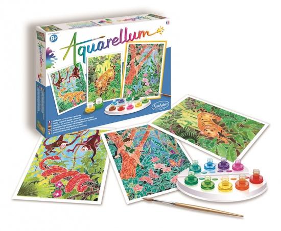 Akvarely - Kniha džunglí