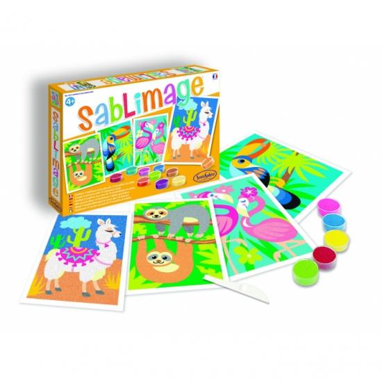 Sablimage: Pískové obrázky - Jihoamerická zvířata : 3373910088114