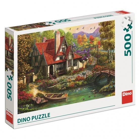 CHATA U JEZERA 500 Puzzle : 8590878502512