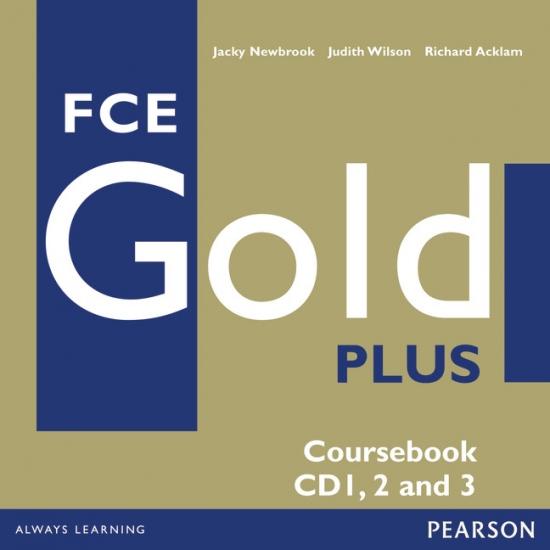 FCE Gold Plus Class Audio CDs (3) : 9781405848732