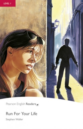 Pearson English Readers 1 Run for your Life Book + CD Pack
